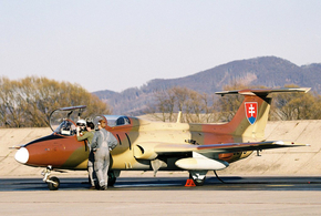 L-29 Delfín / photo M.Gyűrösi