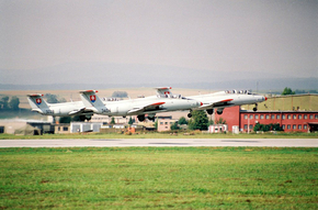 3 x L-29 SIAF 1993 / photo M.Gyűrösi