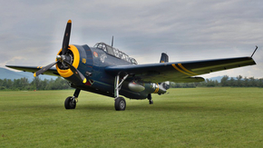 Grumman Avenger / photo Cajo