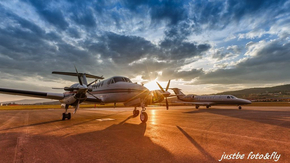 Kingair 200 / photo - M.Janičina