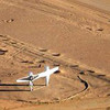 Twin Aircraft Art Sculpture Simpson desert