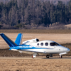Very-light jet Cirrus Vision SF50 v Poprade